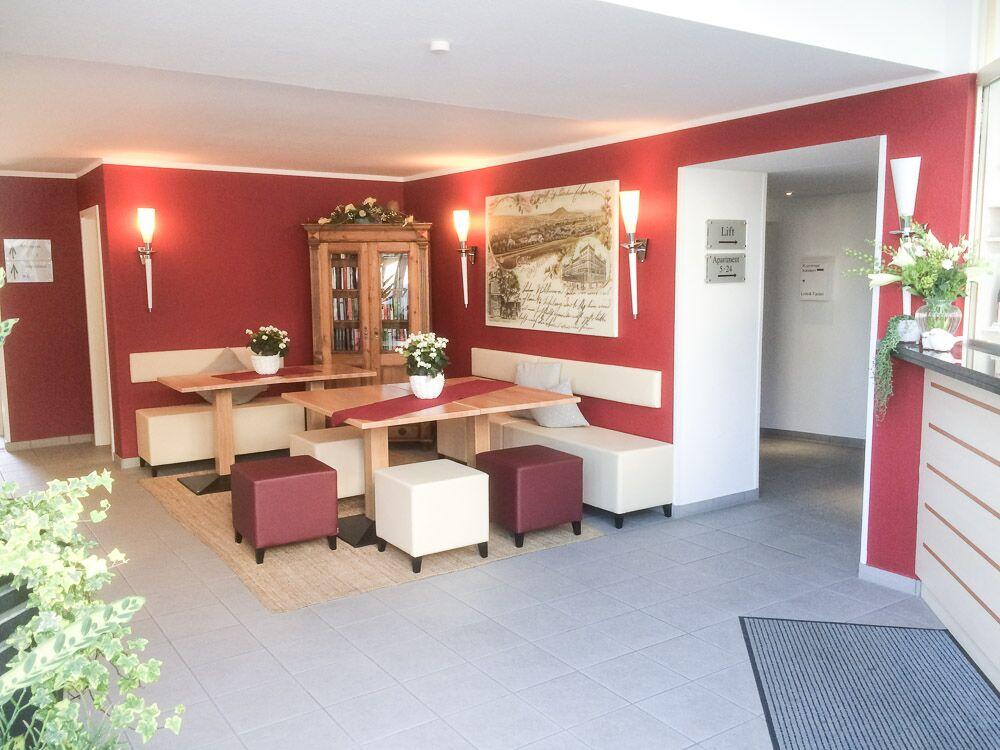 Ahrtal Apartments Ferienwohnungen Empfang