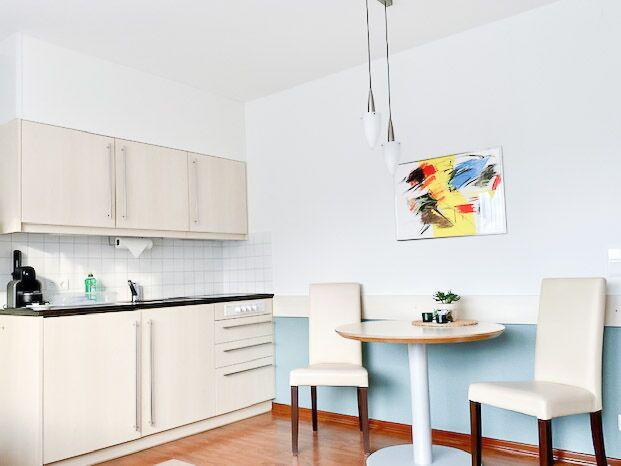 Ferienwohnung Wohnzimmer Küche Sonnenberg