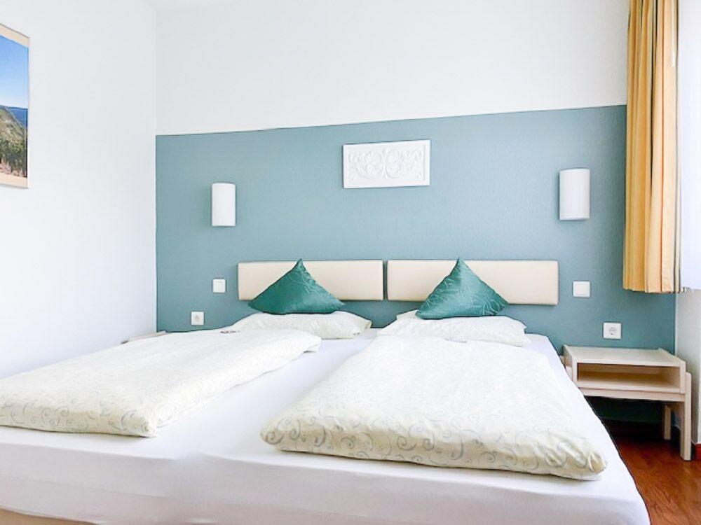Ferienwohnung Schlafzimmer Rosenthal