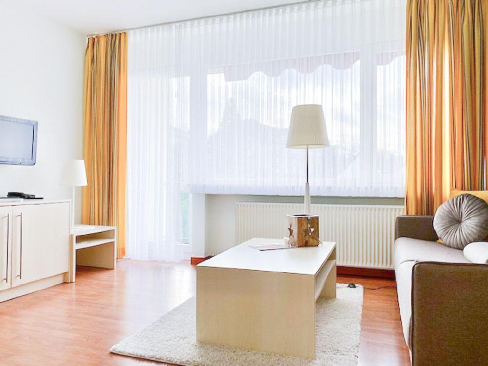 Ferienwohnung Wohnzimmer Küche Rosenthal